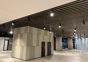 Custom made aluminium beam suspended ceiling - SPSC - SP Suspended Ceilings